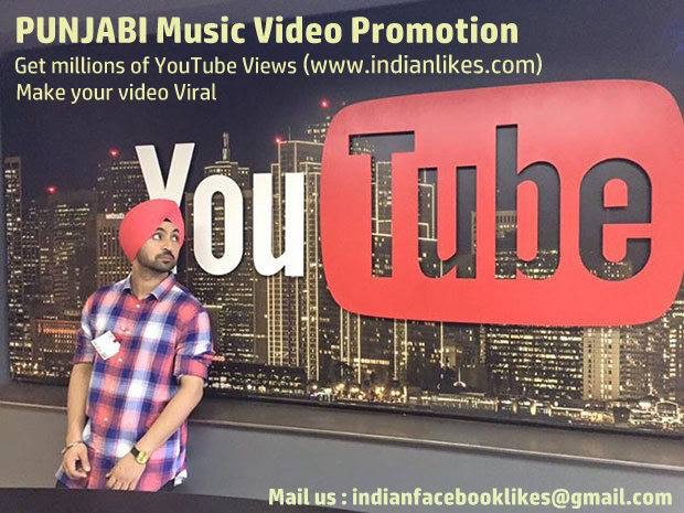 Punjabi Music Video Promotion